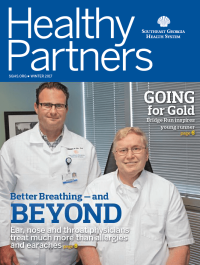 SGHS Healthy Partners Magazine Winter 2017 Edition
